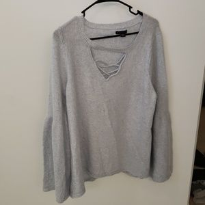 Icy blue/gray sweater!